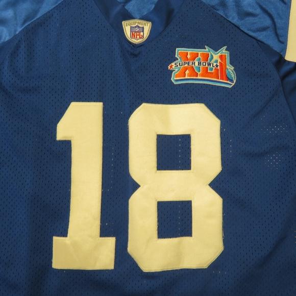 48828940 Reebok Indianapolis Colts Peyton Manning Jersey